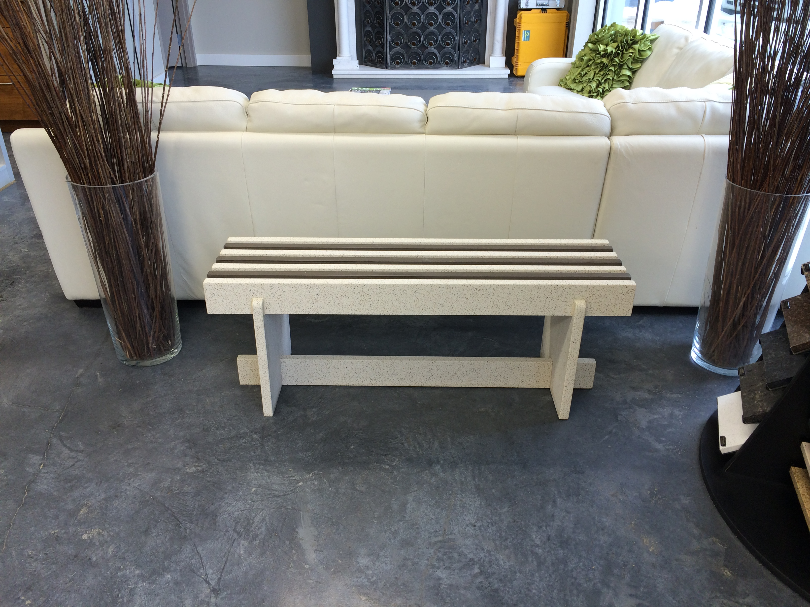 Engineered Quartz Bench