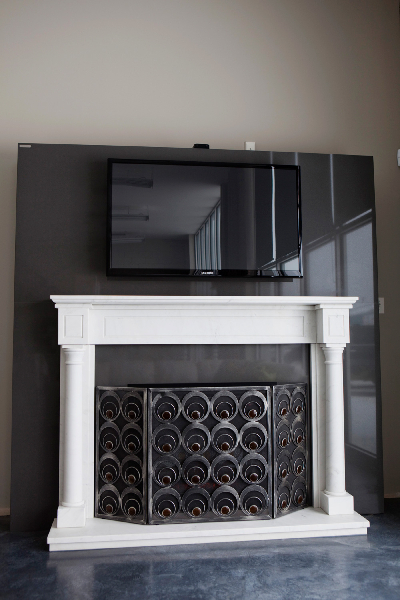 fireplace-caesarstone-concrete